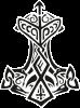 Молот тора візерунок