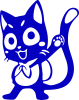 Color cat Fairy Tail