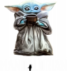 Yoda with a cup