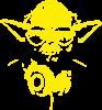 Yoda в навушниках