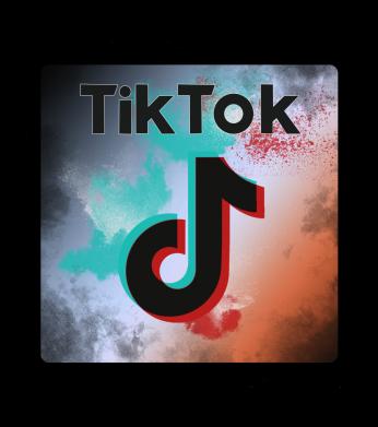 Принт Чоловіча футболка Tik Tok art, Фото № 1 - FatLine
