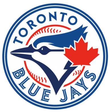 Принт Футболка Поло Toronto Blue Jays - FatLine
