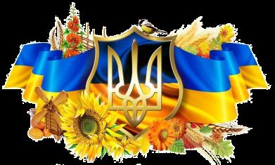 Принт Мужская футболка  с V-образным вырезом Сонячна Україна - FatLine