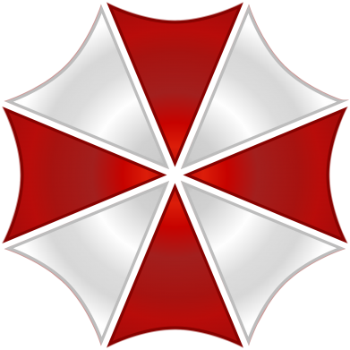 Принт Футболка Поло Umbrella Corp Logo - FatLine