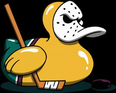 Принт Жіноча футболка Hockey duck, Фото № 1 - FatLine