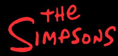 Принт Чоловіча футболка The Simpson Logo, Фото № 1 - FatLine