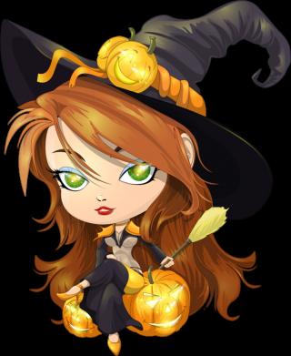 Принт Детская футболка Красивая ведьма - FatLine