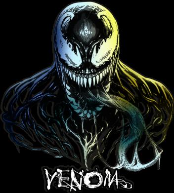 Принт Женская футболка Venom Bust Art, Фото № 1 - FatLine