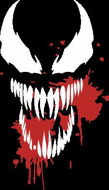 Принт Жіноча футболка Venom blood, Фото № 1 - FatLine