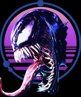 Принт Жіноча футболка Venom profile, Фото № 1 - FatLine
