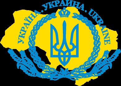 Принт Кружка 320ml Україна Мапа, Фото № 1 - FatLine