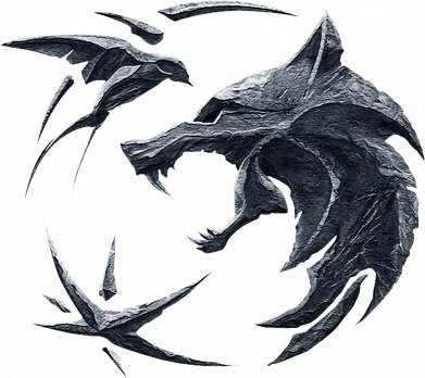 Принт Женская футболка The  witcher: wolf and swallow, Фото № 1 - FatLine
