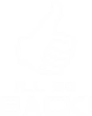 Принт Футболка I will be back - FatLine