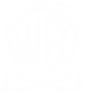 Принт Реглан Warn A brother - FatLine