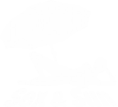 Принт Футболка Поло Sex and Sun - FatLine