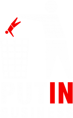 Принт Футболка Поло Put In Business - FatLine