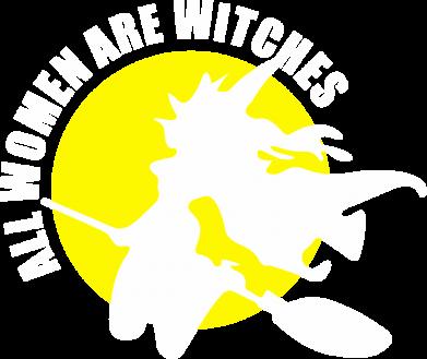 Принт Мужская толстовка на молнии Все женщины - ведьмы - FatLine