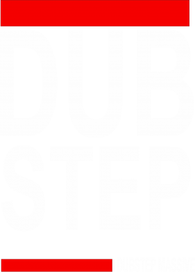 Принт Футболка Поло Dub Step - FatLine