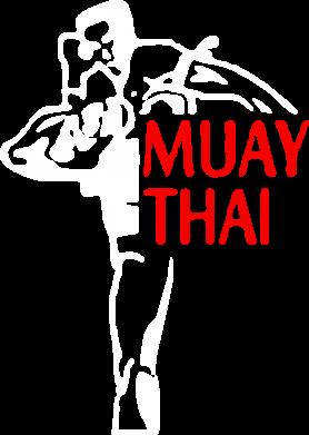 Принт Футболка Поло Muay Thai kick - FatLine