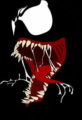 Принт Жіноча футболка Venom jaw, Фото № 1 - FatLine