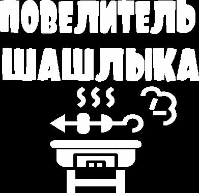 Принт Женская футболка Повелитель шашлыка, Фото № 1 - FatLine