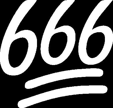 Принт Женская футболка 666, Фото № 1 - FatLine