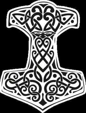 Принт Жіноча футболка Hammer torus pattern, Фото № 1 - FatLine