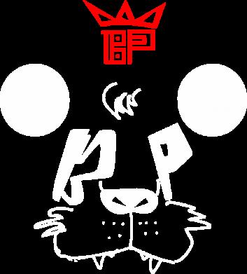 Принт Женская футболка Bear panda, Фото № 1 - FatLine