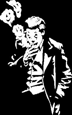 Принт Женская футболка Joker smokes and smiles, Фото № 1 - FatLine