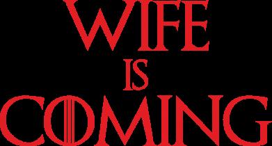 Принт Жіноча футболка Wife is coming, Фото № 1 - FatLine