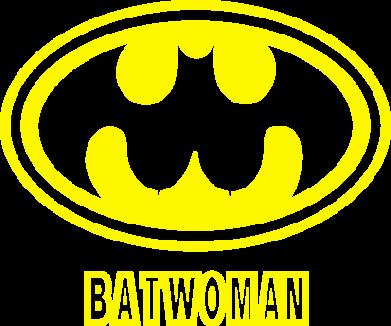 Принт Женская Batwoman - FatLine