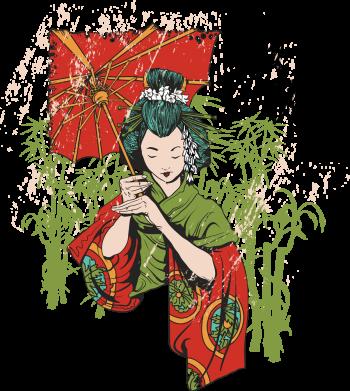 Принт Жіноча футболка Japanese, Фото № 1 - FatLine
