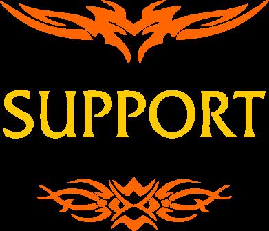 Принт Кепка Support, Фото № 1 - FatLine