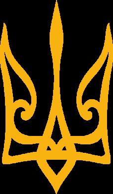 Принт Жіноча футболка Ukrainian trident, Фото № 1 - FatLine