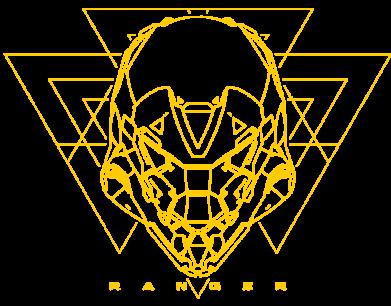 Принт Жіноча футболка Ranger line art, Фото № 1 - FatLine