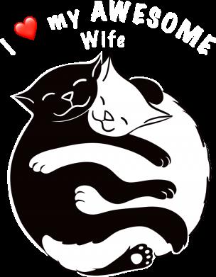 Принт Мужская толстовка Cats with a smile, Фото № 1 - FatLine
