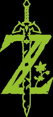 Принт Жіноча футболка The Legend of Zelda Logo, Фото № 1 - FatLine