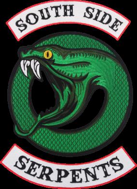 Принт Женская футболка South side serpents stripe, Фото № 1 - FatLine