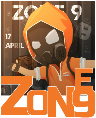Принт Кружка 320ml Standoff Zone 9, Фото № 1 - FatLine