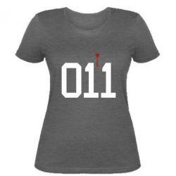 Женская футболка 011
