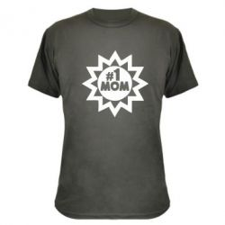 Камуфляжная футболка # 1 MOM - FatLine