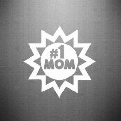 Наклейка # 1 MOM