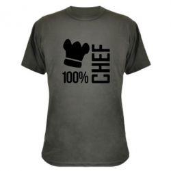 Камуфляжная футболка 100% Chef - FatLine