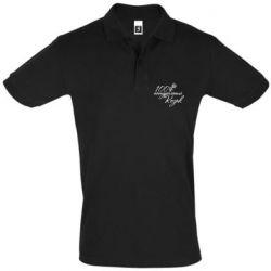 Мужская футболка поло 100% натуральный козак