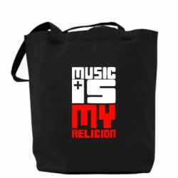 Сумка Music is my religion - FatLine