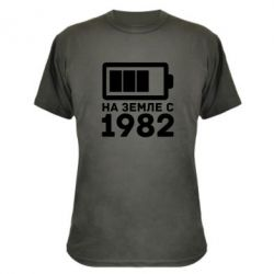 Камуфляжная футболка 1982 - FatLine