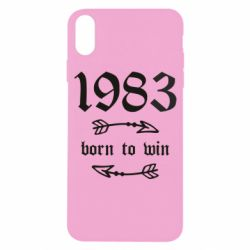 Чохол для iPhone X/Xs 1983 Born to win