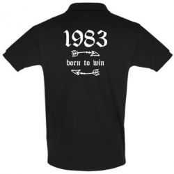 Футболка Поло 1983 Born to win