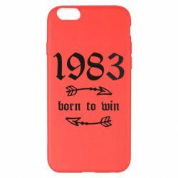 Чохол для iPhone 6 Plus/6S Plus 1983 Born to win
