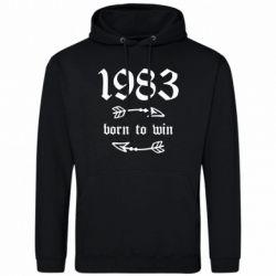 Чоловіча толстовка 1983 Born to win